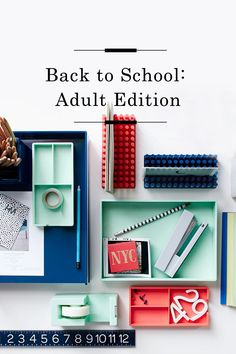 Back to School Adult Edition /