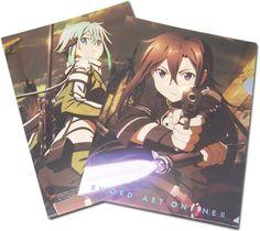 Sword Art Online II File Folder - Sinon & Kirito Gunpoint @Archonia_US