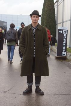 "meoutfit : meoutfit # 1454  ""Smoking in Pitti"""