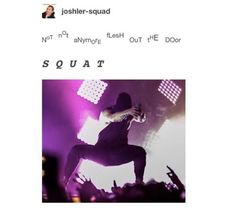 That's a nice squat
