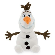 Disney Olaf Plush - Mini Bean Bag - 20.3 cm (8``) Material: polyester fibre, plastic pellets, and polyurethane foam. Handwash. Measures 20.3 cm (8) tall, including felt hair (Barcode EAN = 4126374491360). http://www.comparestoreprices.co.uk/december-2016-6/disney-olaf-plush--mini-bean-bag--20-3-cm-8-.asp
