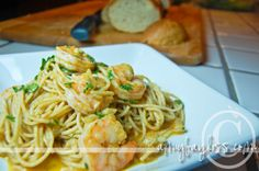 Cajun Shrimp Scampi Recipe – Great Main Dish for Summer