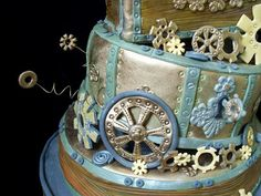 The Chef Mother: Heavy Metal, Steampunk and Gothic Cakes