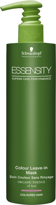 Schwarzkopf Professional Essensity Colour Leave In Mask * You can find more details by visiting the image link. Schwarzkopf Professional, Coloured Hair, Hair Care, Hair Masks, Leaves, Personal Care, Image Link, Handle, Color