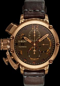 U-51 CHIMERA BRONZE relógio - Presentwatch.com