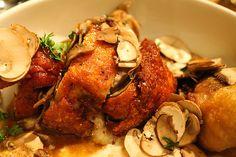 Fried Chicken at Trencherman (Chicago, IL). #UniqueEats #friedchicken