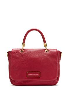 Marc by Marc Jacobs Too Hot To Handle Front Flap Satchel