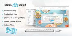 ThemeForest - CoonCook v2.5 - Prestashop 1.6.0.14 Online Store + Blog Full Download