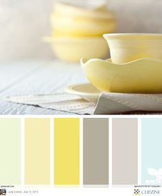 Pastel clay- like color pallet, the colors we are wanting to do the kitchen