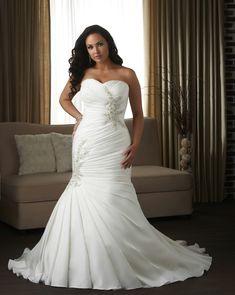 beautiful plus size wedding dress! Bonny Unforgettable Wedding Dresses - Style 1309 #plus #wedding #dress