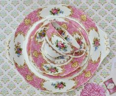 Beautiful Vintage Shabby China