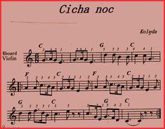 Cicha noc Saxophone, Violin, Guitar, Polish Music, Easy Piano Songs, Kalimba, Christmas Music, Ukulele, Sheet Music
