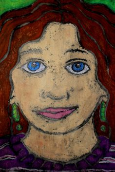 The Elemental Art Room: 6th Grade Self-Portraits (a learning experience)