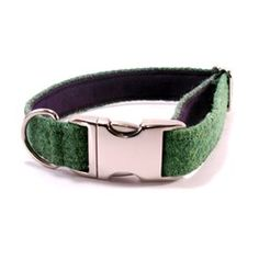 Dog Collars that do the business and look the part, simple as that.It's easy to fall for Eilidh Campbell's My Dawg range. As she says herself, My Dawg is a combination of two of her greatest passions, her love of animals (especially her dogs) and her love for the island that she grew up on - South Uist in the Outer Hebrides of Scotland. Incidentally this is one of only four islands allowed to produce Harris Tweed