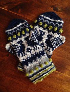 Ravelry: aff's Bird mittens