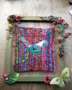weaving project by meadowdoe, via Flickr
