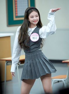 Stage Outfits, Kpop Outfits, Blackpink Jennie, Blackpink Fashion, Fashion Outfits, Korean Girl, Asian Girl, Tumbrl Girls, Black Pink Kpop