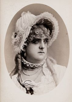 Happy Halloween! 🎃 Mr Paul Vernon, victorian female impersonator. 1880s