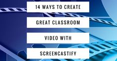Screencastify makes it easy to record video of your screen or with your webcam. Here are ideas for classroom implementation.