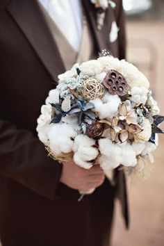 cotton cotton, bridal bouquets, flower bouquets, wedding bouquets, southern weddings, fall weddings, flower ideas, themed weddings, floral designs