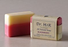 All Natural Soap with blackberry. Gentle on face, hands and body.