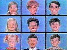 The Brady Bunch  Yep!  The dagginess continues - loved watching The Brady Bunch when I came home from school and oh - if only I had an Alice now!    Perhaps I was inspired by having 6 kids of my own!