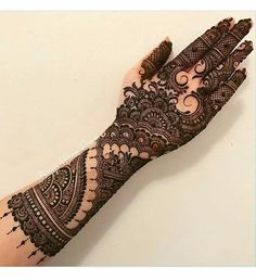 Semi-bridal mehandi