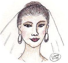 Feature Art Design: Bride Sketching