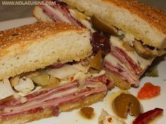 the oh so yummy muffuletta sandwich. this website has great creole recipes: www.nolacuisine.com