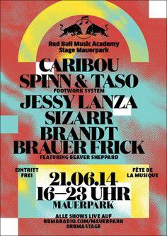 Fête de la musique 2014   Stage Mauerpark, Berlin  