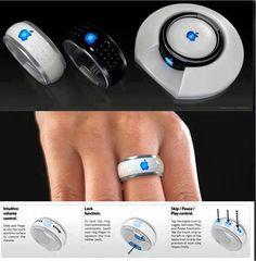 #iRing un nuevo producto de #Apple? Cuerpo a cuerpo vs. #Google y su anillo de contraseñas