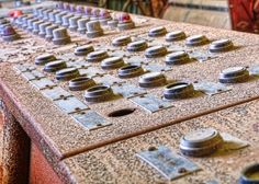 Cotton Gin Operator Console by Emery_Way, via Flickr