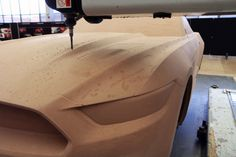 2015 Ford Mustang - Clay Model CNC Milling