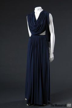 omgthatdress:    Dress  Madame Grès, 1973  The Museum at FIT