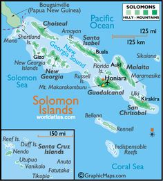 Ultimate Travel Guide to Solomon islands Surf, Island Map, Country Maps, Hotels, Marshall Islands, Solomon Islands, Cook Islands, Ultimate Travel, South Pacific