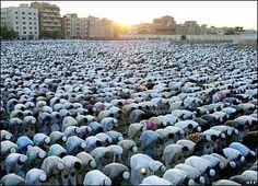Prayer in Saudia Arabia