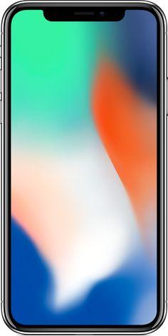 iPhone X Silver Apple