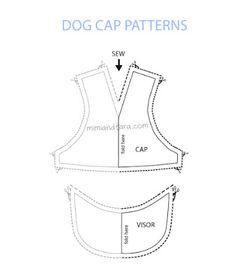 free dog cap patterns