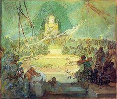 Age of Love by Alphonse Mucha