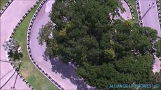 Aerial View of a Go Karting Track in Thailand Go Kart Tracks, Karting, Aerial View, Drones, Lp, Thailand, Cart