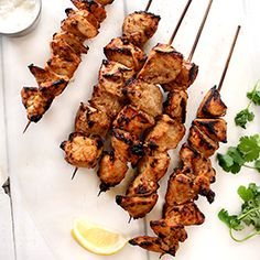 Chicken Tikka, a recipe from the ATCO Blue Flame Kitchen.