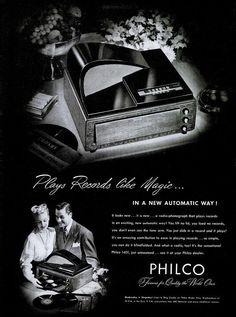 Philco 49-1401 advert. 1948
