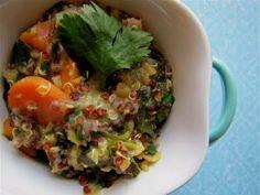 Albion Cooks: Quinoa & Red Lentil Kitchari