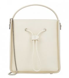 3.1 Phillip Lim Small Soleil Bucket Bag in White