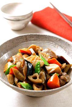 筑前煮、和食、煮物/Chikuzen-ni