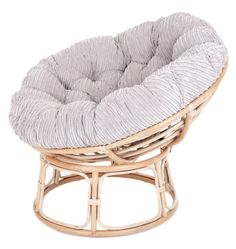 Rattan Papasan Chair Cushion - Home Furniture Design Papasan Cushion, Papasan Chair, Home Furniture, Furniture Design, Chenille, Scatter Cushions, Soft Furnishings, Home Decor Inspiration, Rattan
