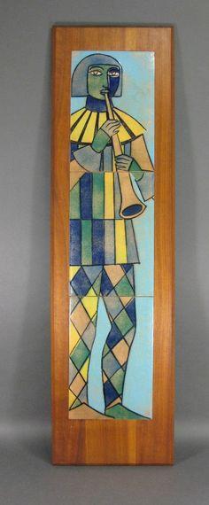 Mid Century Modern Harris Strong Tile Art On Pinterest
