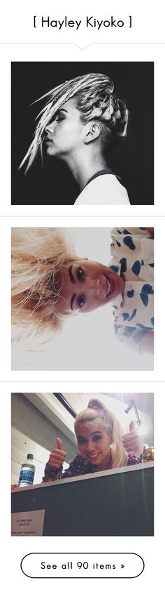"""""""[ Hayley Kiyoko ]"""" by i-love-stan-the-man ❤ liked on Polyvore"""
