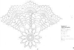 Doily Jenny by Anabelia. Crochet diagram.