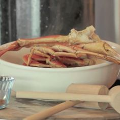 Frozen crab legs are readily available in nearly every market these days and they're delicious when prepared correctly.